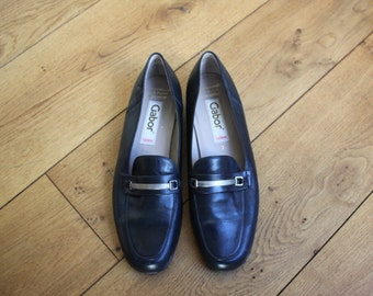Gabor Shoes Women's Leather Loafers by Gabor Size 7