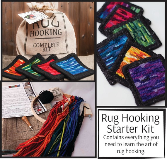 Gifts for Tweens - Basic Rug Hooking Kit