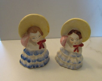 Salt And Pepper Shakers, Collector, Girl Shakers