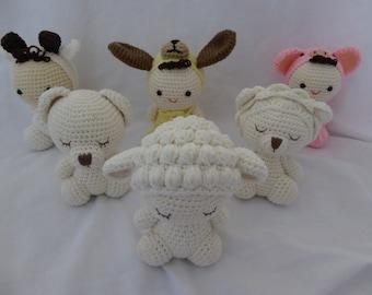 Woolzi: Handmade Premium Organic Cotton Plush - soft toys - Stuffed Animals