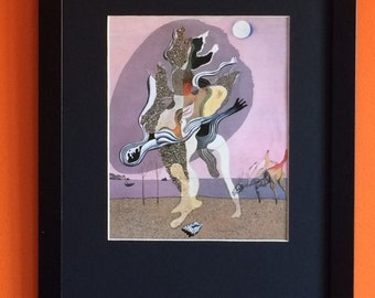 Donkey Carcass by Salvadore Dali 40cms x30cms