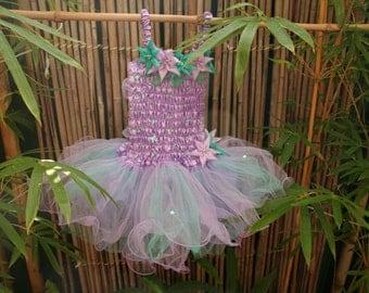 Lilac Flower Fairy Dress