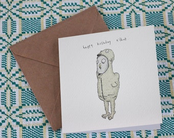Happy Birthday - 'Chicken' - Hand made card