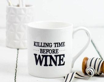 Funny mug for wine lovers friend mug wine drinker mug birthday mug unique mug witty mug poem mug