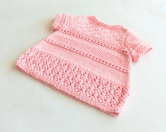Baby girl 3-6-12 month size knit dress