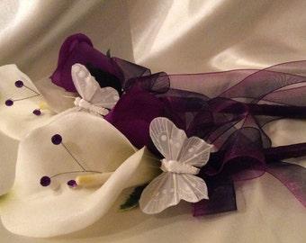 Flower Girl Wand Calla Lily Wand Wedding Flowers