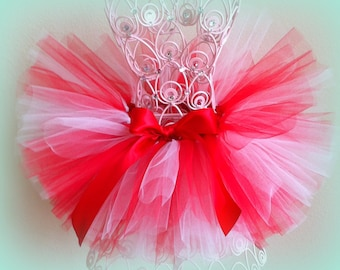 Red and White Tutu, Newborn Tutu, Tutu, Infant Tutu, Baby Tutu, Girls Tutu, Toddler Tutu, Cake Smash Tutu, Photo Prop Tutu, Birthday Tutu