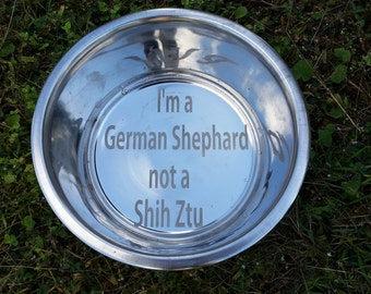 Personalized Dog Bowl,