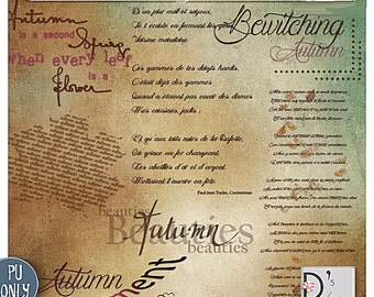 Bewitching Autumn - WordArts - digiscrap