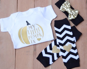 Thanksgiving Onesie, Fall Onesie, Thanksgiving Outfit Baby Girl, Fall Baby Outfit, Baby Girl Thanksgiving Outfit, Pumpkin Onesie, Baby Gift