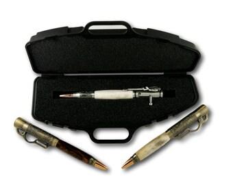 Black Rifle Case Pen Box