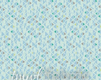 Woven Fabric - Indian Summer Shimmer Creek Aqua - Fat Quarter Yard +
