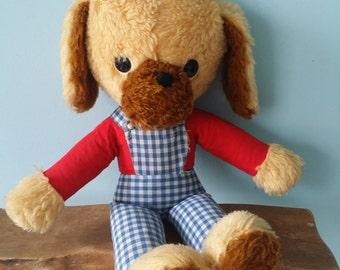 Super cute dog vintage stuffed animal!