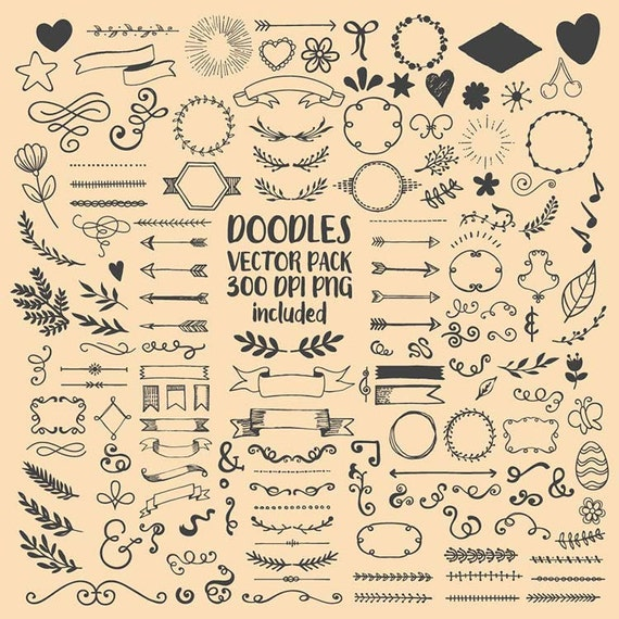 Hand Drawn Scribble Sketch Drawing Doodle Clipart Clip Art