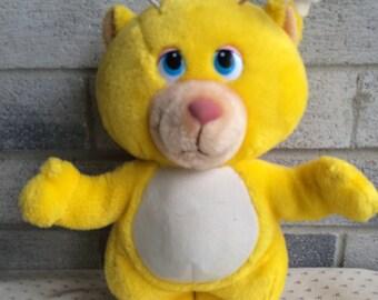 Vintage Disney Wuzzles plush, The Wuzzles doll Butterbear, Disney's Butterbear plush