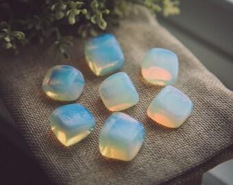 Opalite stone set