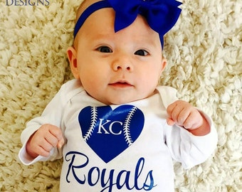 Any team! Personalized baseball or football heart bodysuit or tee! Football onesie, any team, any color any size, customize your own