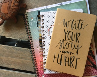 Write Your Story - moleskin journal
