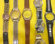Watch Bands with Case and Crystal, Steampunk, Cosplay, Free Shipping