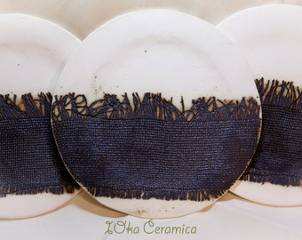 Rustic Ceramic Plate
