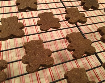 Muddy Buddy Peanut Butter and Carob Dog Treats