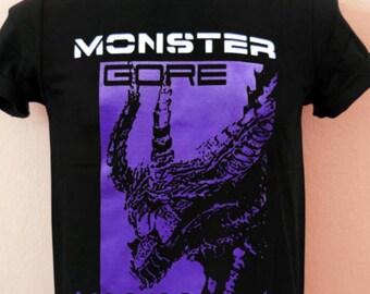 Monster Hunter Gore Magala mens t shirt new size uk size 3xl new