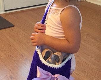 Little girls ballet bag