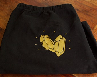 golden gems black bike shorts 3XL