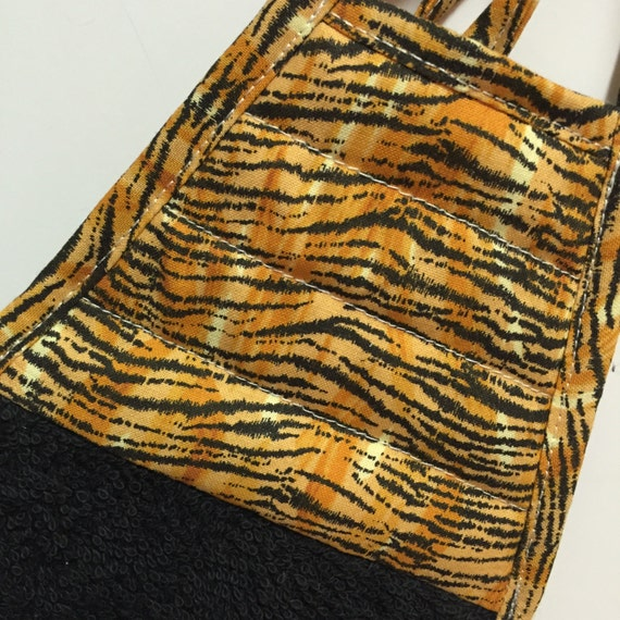 Tiger Kitchen Towelanimal Print Decordish By Thestuffedcat