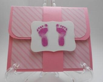 Baby Girl Gift Card Holder