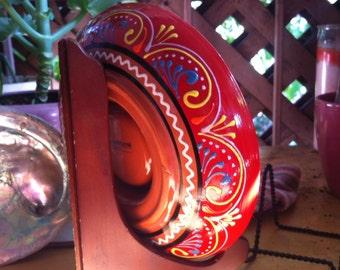 Crate & Barrel Las Ramblas Margarita Salter - Hand-Painted in Spain