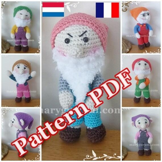 Crochet Amigurumi Doll Tutorial : Crochet Pattern pattern tutorial Amigurumi Doll 7