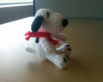 Mini Snoopy Peanuts Amigurumi Doll
