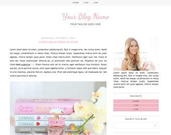 Premade Blogger Template #3