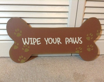 Doggie Bone Sign