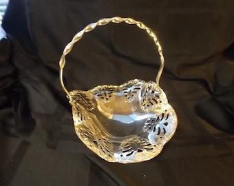 Lovely silver plate basket