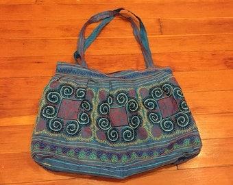 Brightly Colored Vietnamese Shoulder Bag