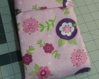 Pink Flower Burst Pillow Case