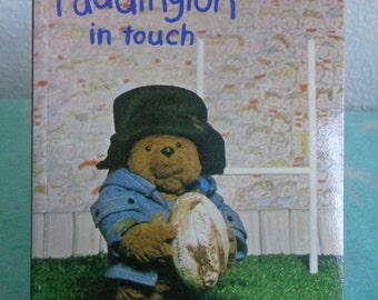 1981 Paddington in Touch' Paddington Bear book.