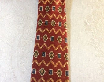 Men's All Silk Tie by Tom James. Made in the USA!