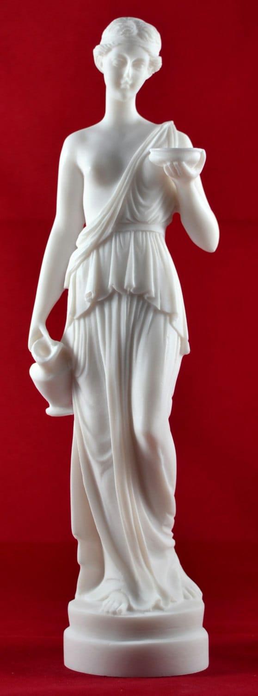 Hestia Goddess of House Fmily Greek Statue greek statue figure
