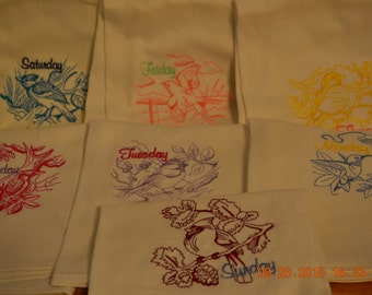 Embroideried Dish Towels