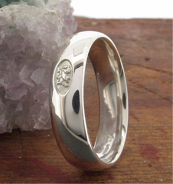 Welsh Wedding Ring: Wedding Ring Welsh Dragon Handmade Range In By CumbrianDesigns