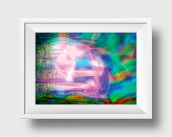 Candy Flip Digital Art 4x6 inch Print