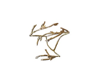 Hand bracelet branches and leaves