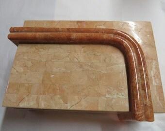 Fossil stone decorative box