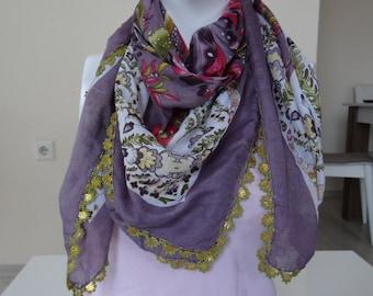 turkish yemeni oya handmade or hair bands or decorative cover