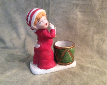 Christmas Luvkins Votive Holder by Jasco 1978