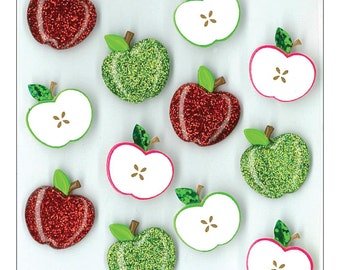 Jolee's Boutique Dimensional Stickers - Cute Apples
