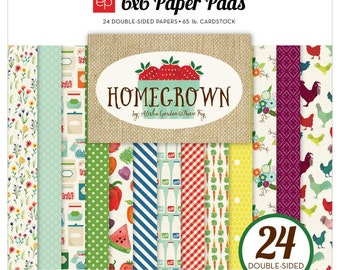 "Echo Park Homegrown 6x6"" Paper Pad"